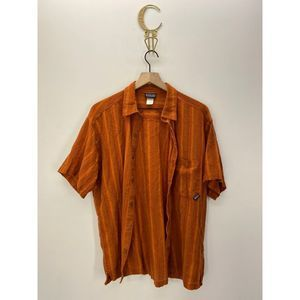 Patagonia Short Sleeve Casual Button-Down Shirt M